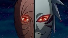 Anbu Mask Sharingan Eyes Kakashi Uchiha Obito Tobi Kyuubii9 HD Wallpaper 1920×1080