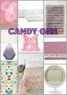 lucite + lavender, Teen Room