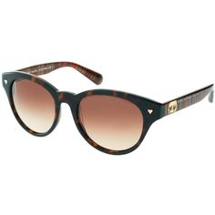 Marc By Marc Jacobs Heart Sunglasses, found on Polyvore