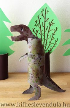 Croissant and Lavender: Dinosaurs from a paper gig - Croissant and Lavender: Dinosaurs from a paper gig - Dino Craft, Dinosaur Crafts, Dinosaur Art, Nursery Activities, Art Activities For Kids, Art For Kids, Vocabulary Activities, Dinosaurs Preschool, Preschool Crafts