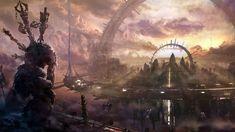 Futuristic City Wallpaper 2