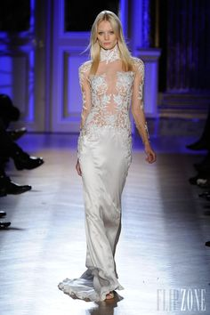 Zuhair Murad - Lacy Couture Gown