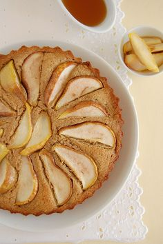 Pear and honey cake / Bolo de pêra e mel by Patricia Scarpin, via Flickr
