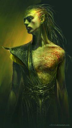 Male Elfin of of the Deep Swamps