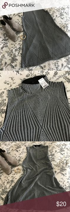Mock Neck Shimmer Dress Such an adorable dress! I received this as a Christmas gift this past year and it's just not my style! Perfect condition, BNWT, falls just above the knee. Sparkly, slinky, can be dressed up or down so beautifully! Dresses