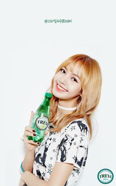 BLACKPINK for Trevi Sparkling Water Individual Shots - Album on Imgur