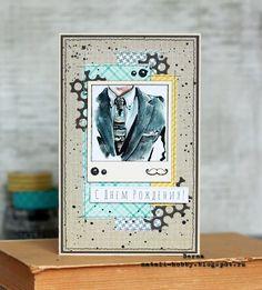 Special Day Cards: Задание № 154: Открытка на день рождения в клеточку