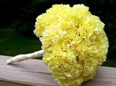 yellow bridal bouquets | ... of Wedding Flowers - Wedding Ideas & Planning Advice from Weddzilla