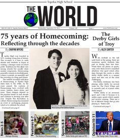 Topeka High The World (Volume 148 Issue 1)