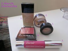 5 March Beauty Favourites