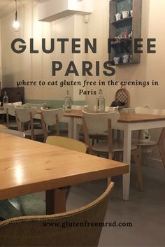 While Paris has increasing numbers of gluten free restaurants, many are only open during the day. Here& my list of gluten free evening dining options in Paris. Free Travel, Travel Tips, Travel Ideas, Travel Destinations, Travel Goals, Travel Hacks, Holiday Destinations, Sin Gluten, Home Remedies For Heartburn