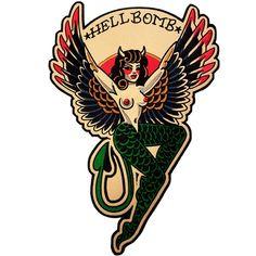 HELLBOMB back patch