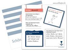 Hochzeitsgästebuch - Gästebuch Karten - ein Designerstück von Be-nice-4-you bei DaWanda