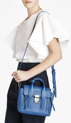 This 3.1 Phillip Lim Pashli Mini Satchel is our go-to day-off accessory.