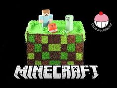Square Checkerboard MINECRAFT Cake! How to Make a Surprise Inside Checker Board Cake - YouTube