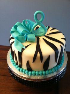 super popular 05689 c2530 Zebra Print Birthday Cake Zebra Print Party, Zebra Print Birthday, Pretty  Cakes, Beautiful