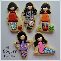 Dulcekoala Decorated Cookies ... and other sweets ...: DECORATED COOKIES GORJOUSS