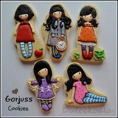 Dulcekoala Galletas Decoradas... y otros dulces...: GALLETAS DECORADAS GORJOUSS