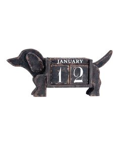 Take a look at this Dog Calendar by Wilco on #zulily today!