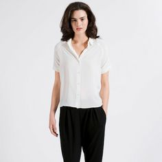 The Silk Short Sleeve -  Everlane