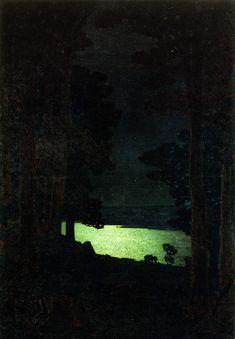Куинджи. Ночь на Дону . 1882