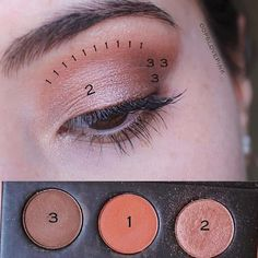 ・・・ Herkese merhaba Farmasi Vice Brown palet i Eye Makeup Steps, Day Makeup, Kiss Makeup, Smokey Eye Makeup, Eyeshadow Makeup, Makeup Tips, Beauty Makeup, Peachy Eyeshadow, Prom Makeup