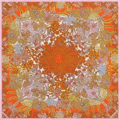 90 x 90 cm scarf Hermès | Maîtres de la Forêt