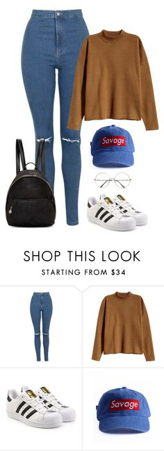 """""""Back to school BTS inspired // Taehyung"""" by berrie95 ❤ liked on Polyvore featuring Topshop, H&M, adidas Originals, STELLA McCARTNEY, Retrò, BackToSchool, bts, taehyung, tae and kpopoutfits"""