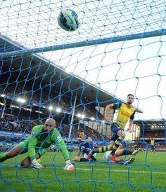 Ramsey starting the comeback v. Everton
