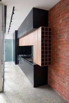 Modern Kitchen Interior 15 Modern Wine Storage Ideas In The Kitchen Modern Kitchen Cabinets, Kitchen Dinning, Modern Kitchen Design, Kitchen Pantry, Interior Design Kitchen, Kitchen Ideas, Kitchen Storage, Dining Room, Narrow Kitchen