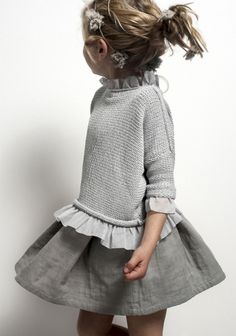 Grey #girls #fashion