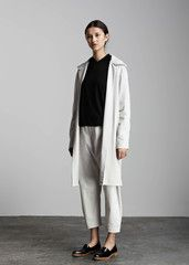 kowtow - 100% certified fair trade organic cotton clothing - Wavelength Coat