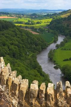 The Wye Valley, Area of Outstanding Natural Beauty (AONB), is an internationally important protected landscape straddling the border between England and Wales. It is one of the most dramatic and scenic landscape areas in southern Britain.