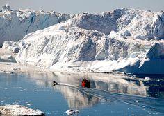 Icefjord, near Ilulissat, Greenland