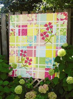 heather bailey fabrics make fun quilts