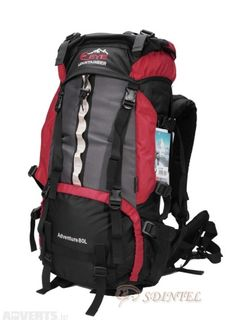 b4f6a64cbbe7 Rucksack 80L Eye Mountaineer Blue or Red