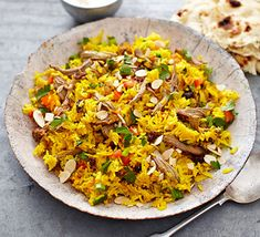 Make the most of Sunday& leftover roast lamb in this colourful spiced rice one-pot from BBC Good Food Magazine reader Karolina McCallan Leftover Lamb Recipes, Leftover Roast Lamb, Bbc Good Food Recipes, Cooking Recipes, Free Recipes, Healthy Cooking, Healthy Eating, Healthy Recipes, How To Cook Lamb