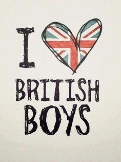 I Love British Boys:*