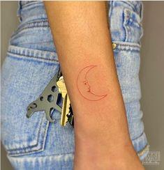 Thin Tattoo, Thin Line Tattoos, Red Ink Tattoos, Dainty Tattoos, Dope Tattoos, Baby Tattoos, Little Tattoos, Mini Tattoos, Small Tattoos