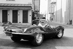 Steve McQueen' Jaguar