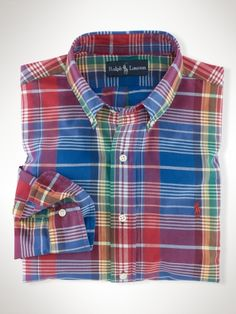 Polo by Ralph Lauren Classic-Fit Preppy Madras