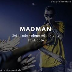 """Sei il mio veleno ed insieme l'antidoto"" @sickmadman Indovinate la canzone nei commenti 🔥 Rap Quotes, Mad Men, News Songs, Captions, Sentences, Lol, My Love, Movie Posters, Trap"