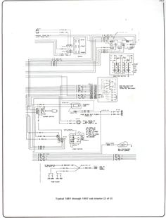 85 Chevy Truck Wiring Diagram | Chevrolet Truck V8 1981-1987 ... on nova blower, chevelle blower, corvette blower, s10 blower, monte carlo blower, silverado blower, stacked blower,