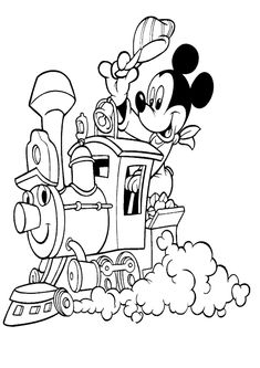 Mickey Mouse Coloring Pages Disney Mickey Mouse Coloring Pages