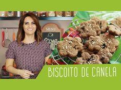 RECEITA DE BISCOITO DE CANELA VEGANO - YouTube