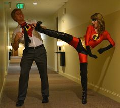 The Incredibles Couples Halloween Costume