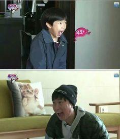 The Return of Superman his favorite show Lee Haru, Superman Cast, Like Father Like Daughter, Korean Tv Shows, Reality Tv Shows, Korean Drama, Comedians, Cute Kids, Fangirl