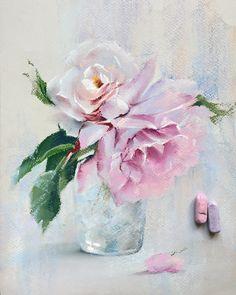 Flowers Pastell Aquarell 56 Ideas For 2020 Soft Pastel Art, Pastel Artwork, Pastel Flowers, Pastel Drawing, Pastel Floral, Pastel Pencils, Chalk Pastels, Chalk Art, Acrylic Art