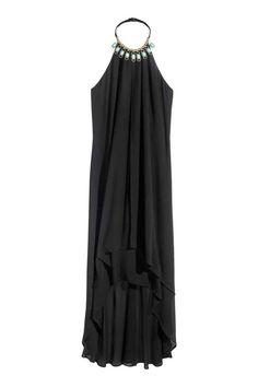 Vestido halter largo | H&M