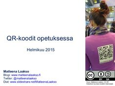 QR-koodit opetuksessa Coding, Learning, Digital, Twitter, Tips, Qr Codes, Advice, Study, Programming